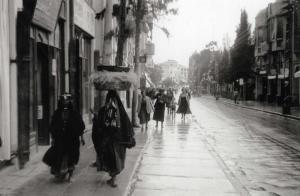 זאב אלכסנדרוביץ - מבט לצפון רחוב נחלת בנימין