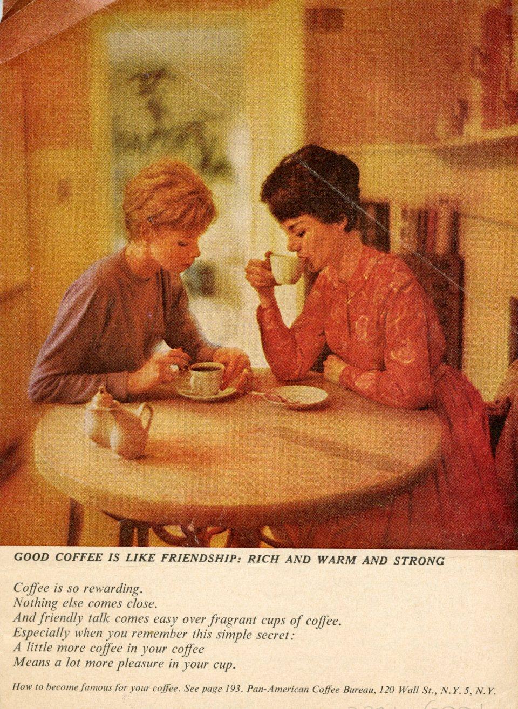 פרסומת לקפה מגזין THE DIPLOMAT ינואר 1962