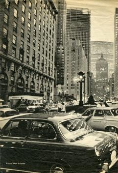 ערב בפארק אבניו בניו-יורק שנות ה-50 צילום MAX SCHELER עיתון דר שפיגל