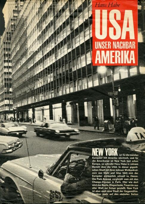 ערב בפארק אבניו בניו-יורק שנות ה-50 צילום MAX SCHELER עיתון דר שפיגל (2)