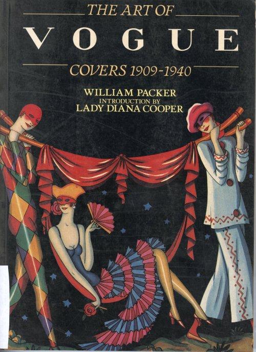 כריכת הספר THE ART OF VOGUE COVERS 1909-1940