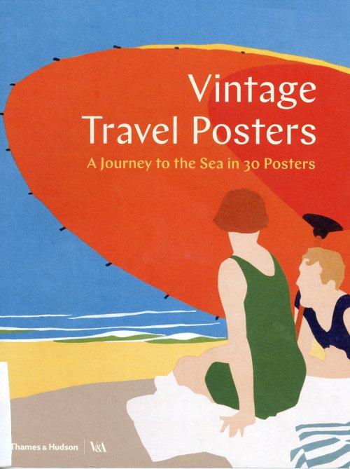 VINTAGE TRAVEL POSTERS כריכת הספר