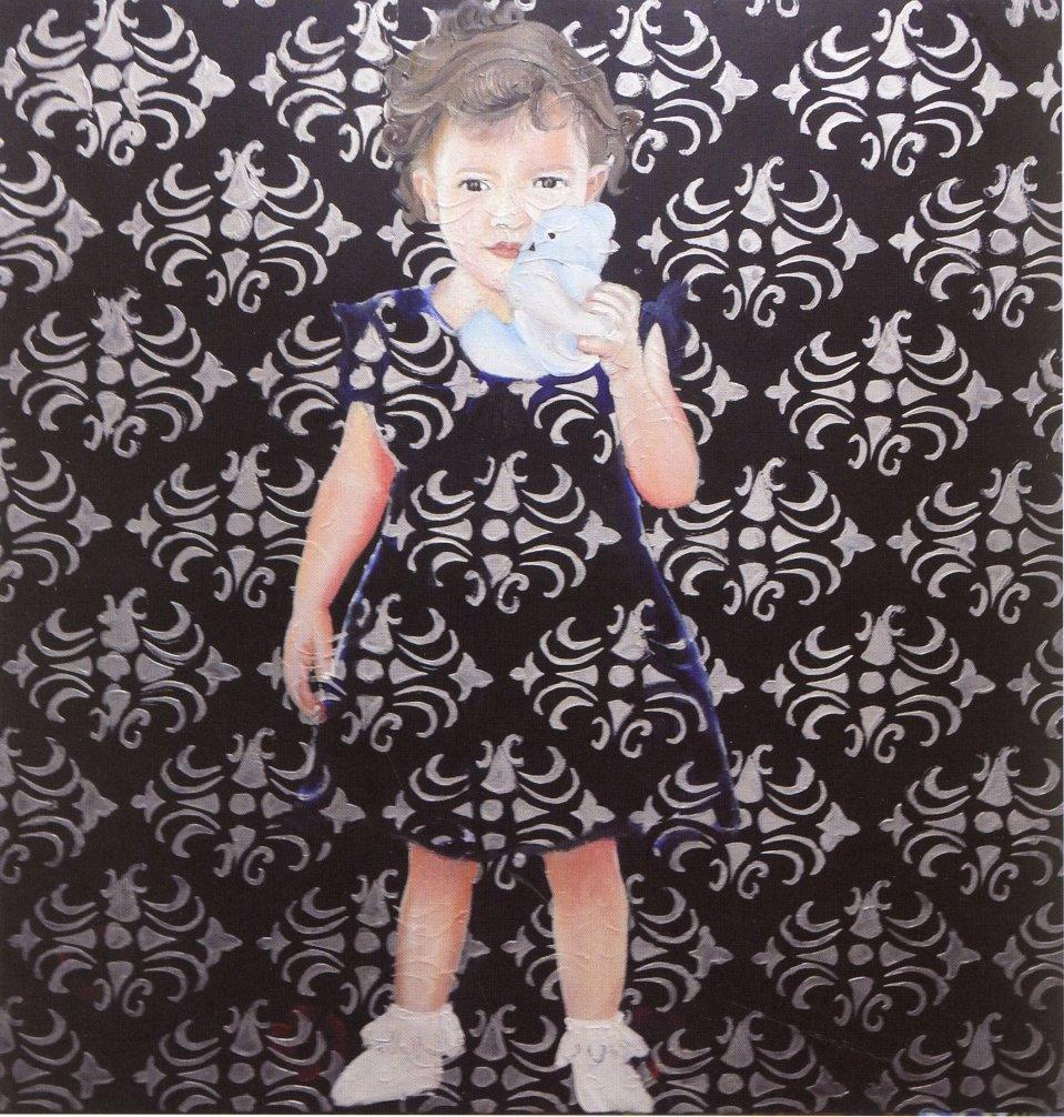 ציור ראמי גבארין נורין 2018 קטלוג מרבדים מדברים