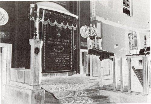 ארון הקודש בית הכנסת הגדול ספר היובל לבית הכנסת הגדול